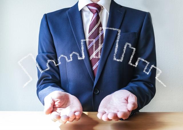 スーツ男性提案